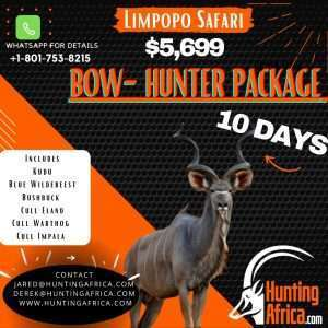Hunting Africa 2021 hunt packages