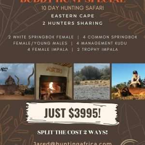 Hunting Africa hunting packages