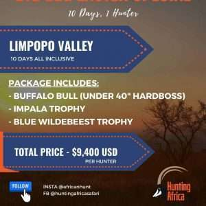 Hunting Africa 2021 hunting packages