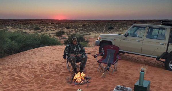 Jamy Traut africa hunting camp 3