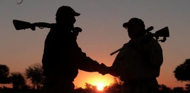 hunters Silhouette