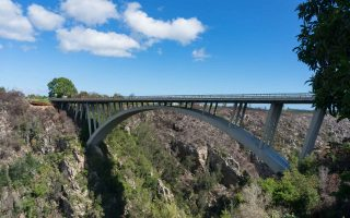 Bloukrans Bridge in Tsitsikama in South Africa